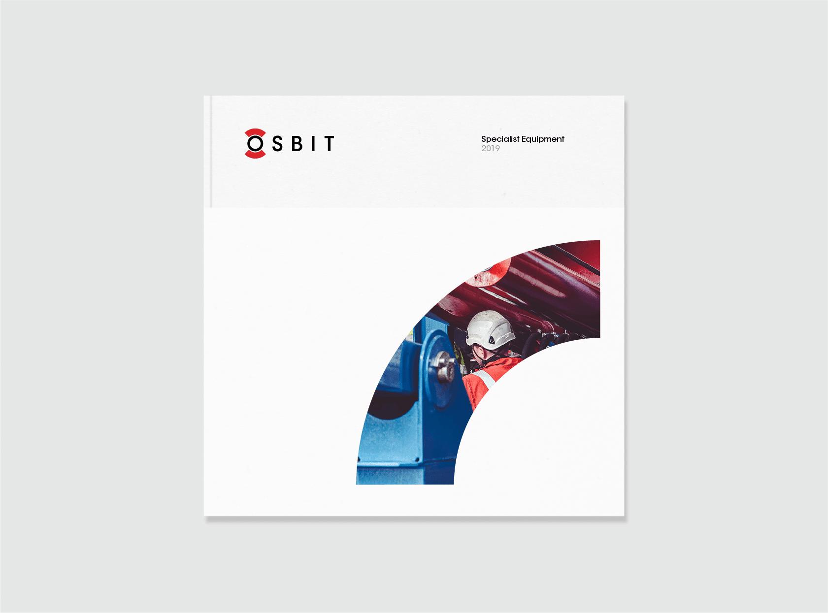 Brochure design for Osbit