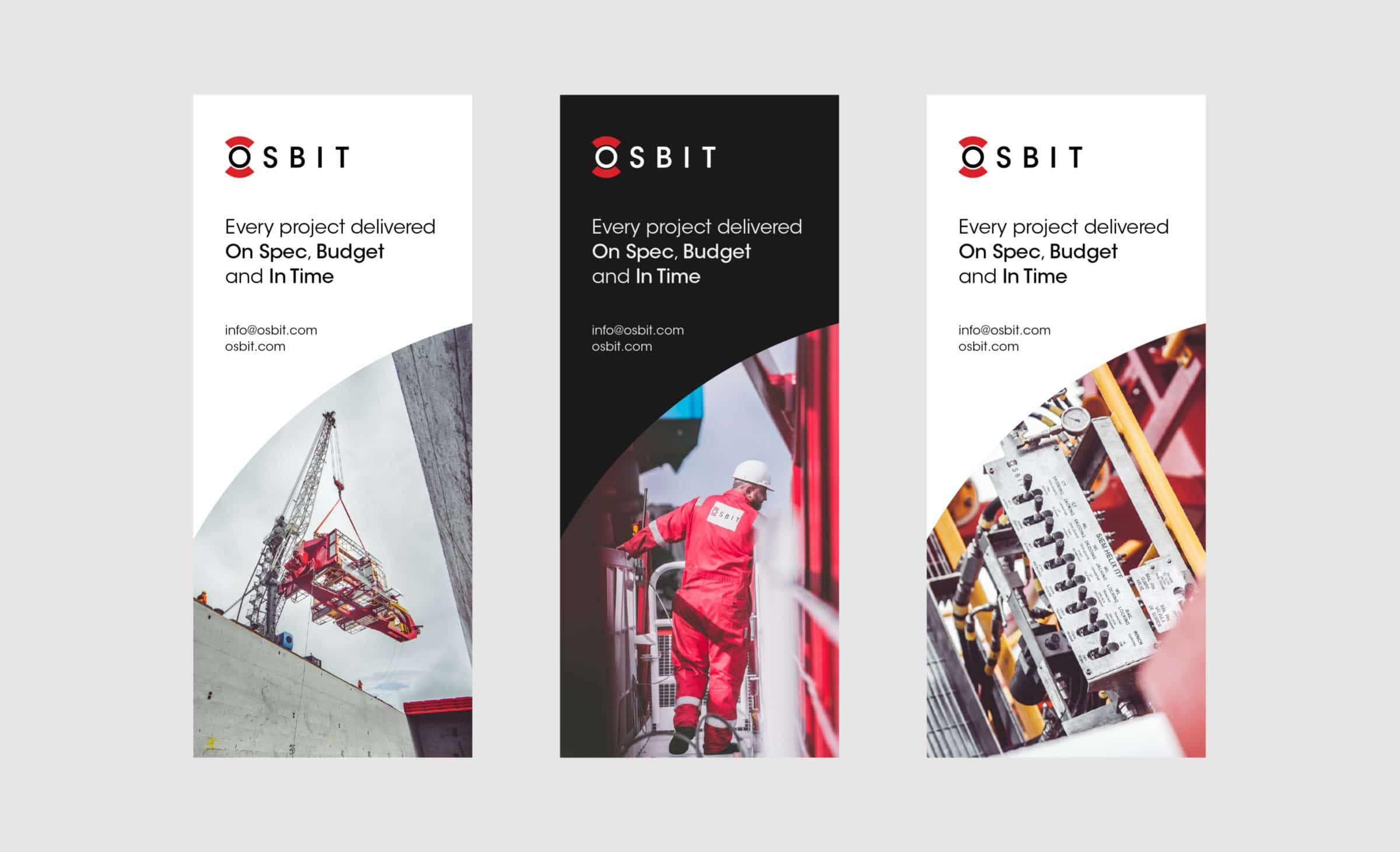 Exhibition design for OSBIT