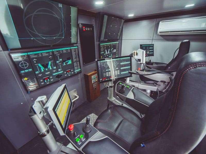 Photo of an Osbit control cabin