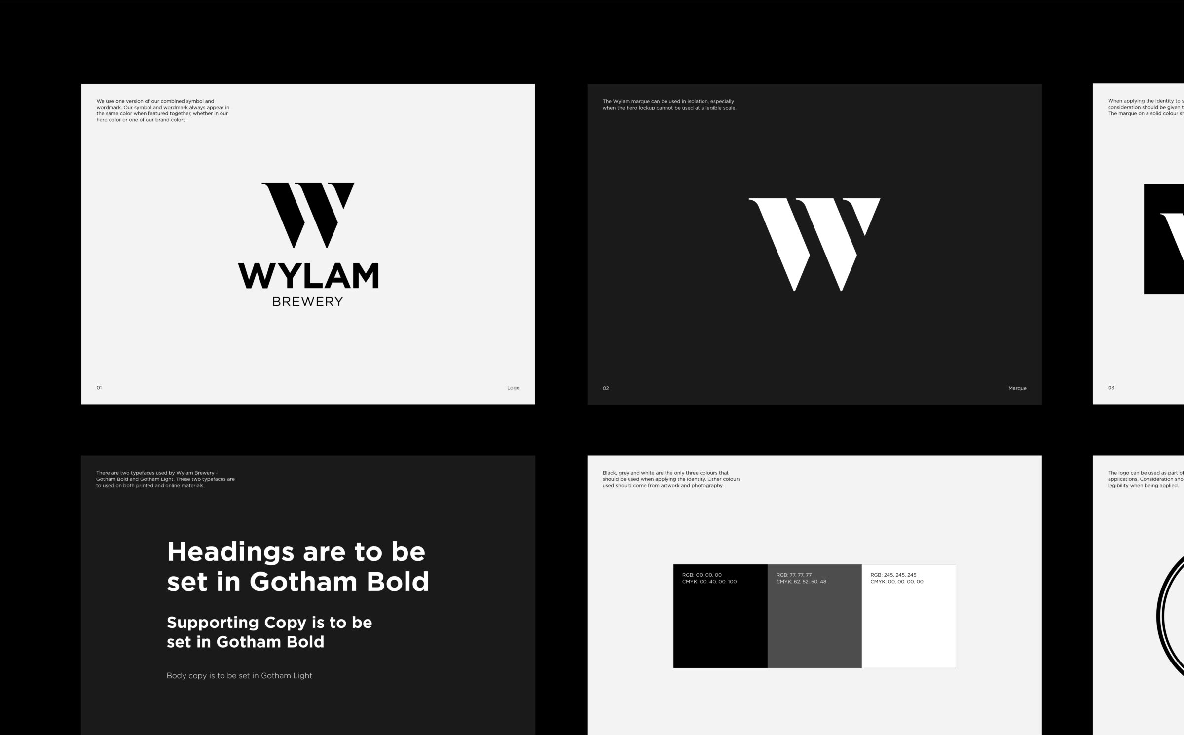 Logo design for Wylam Brewery