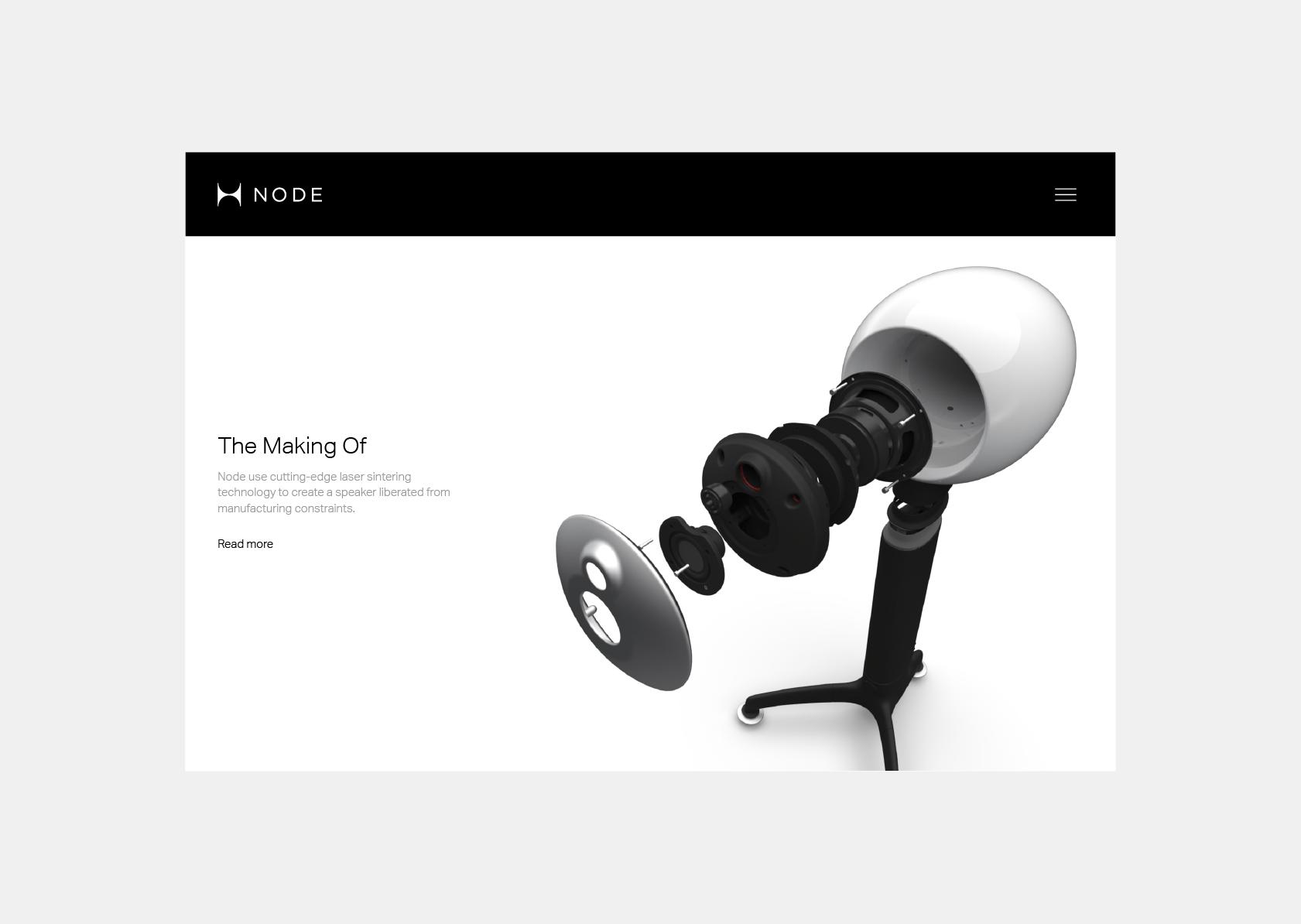 Website for Node Audio