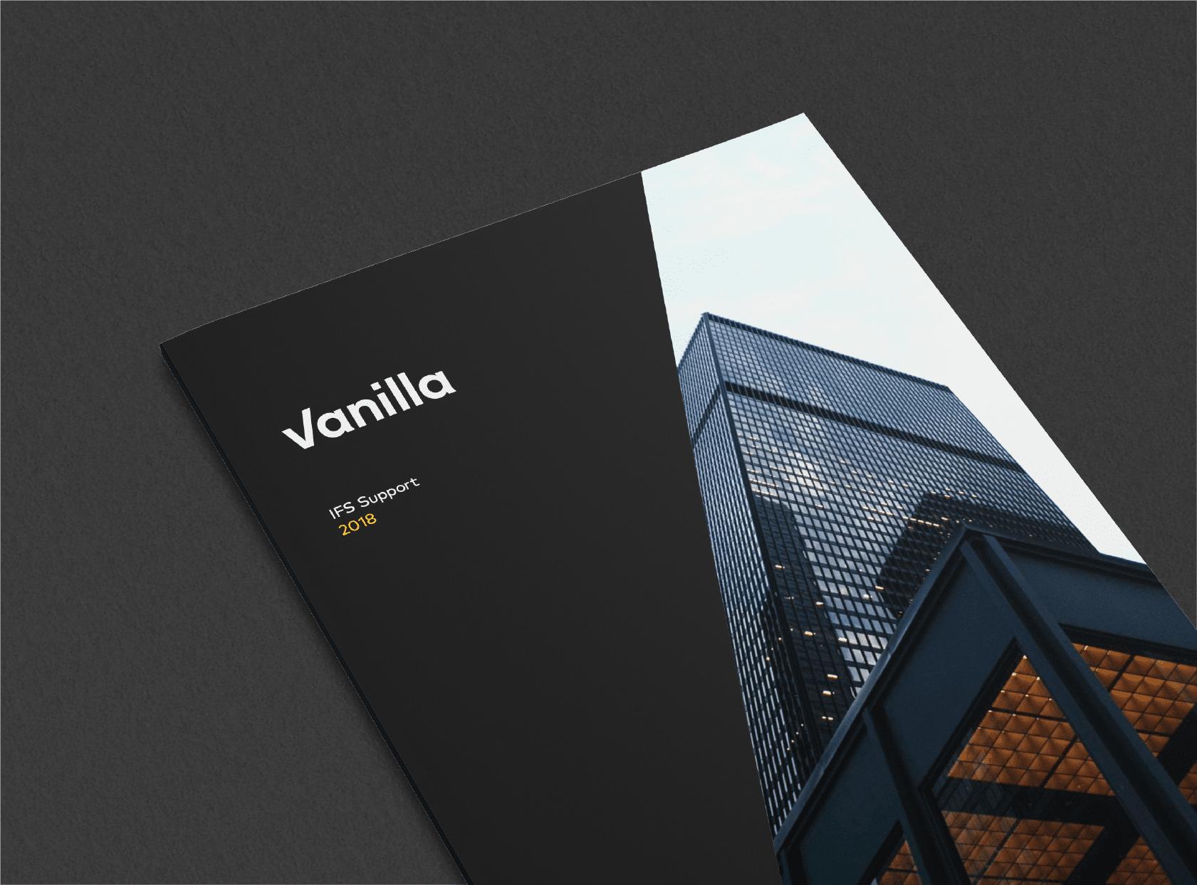 Leaflet design for Vanilla