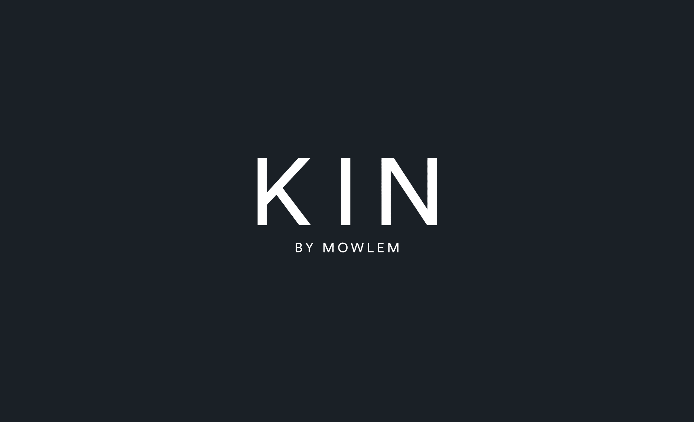 Logo design for Kin by Mowlem