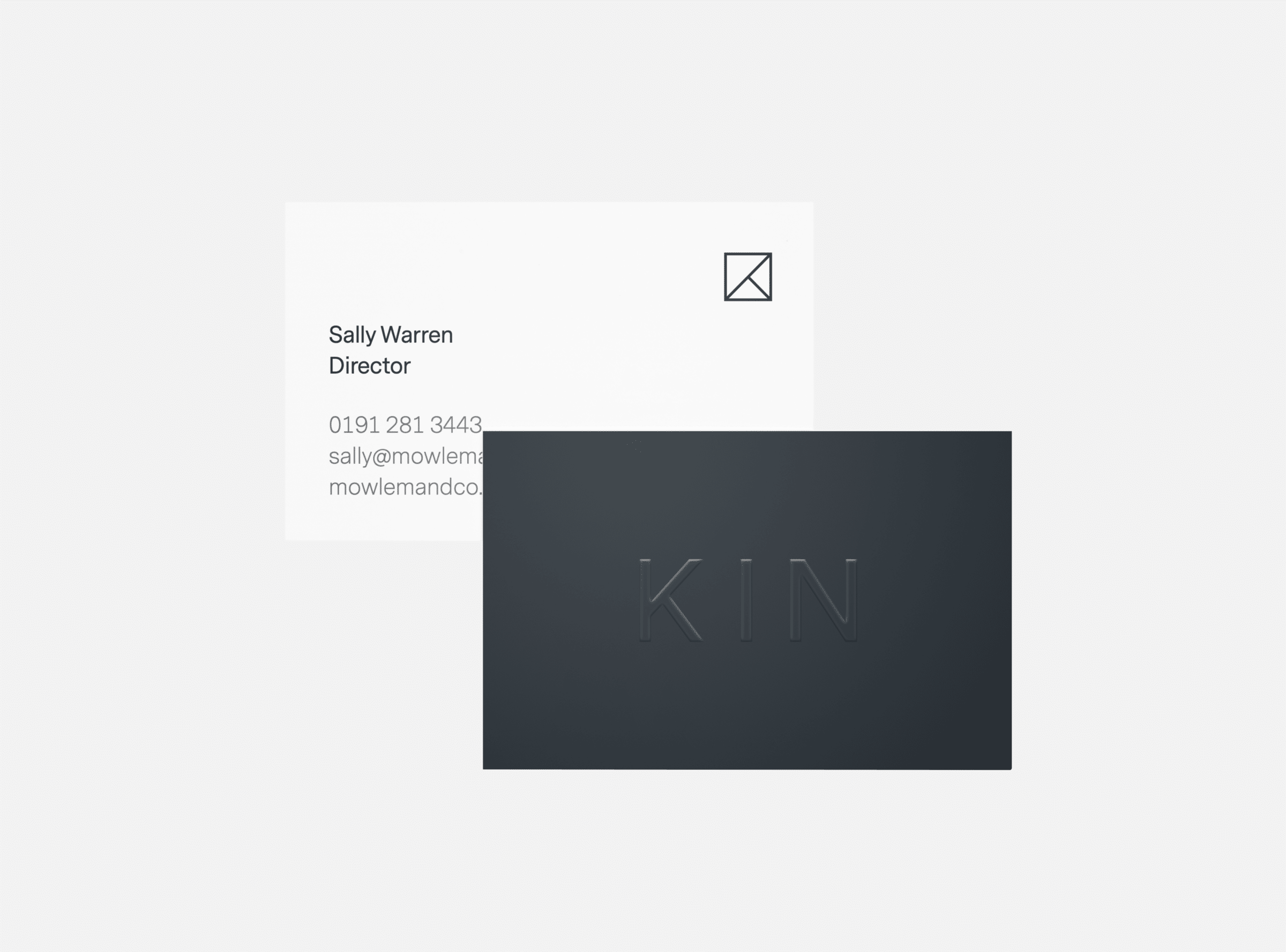 Business stationary design for Kin