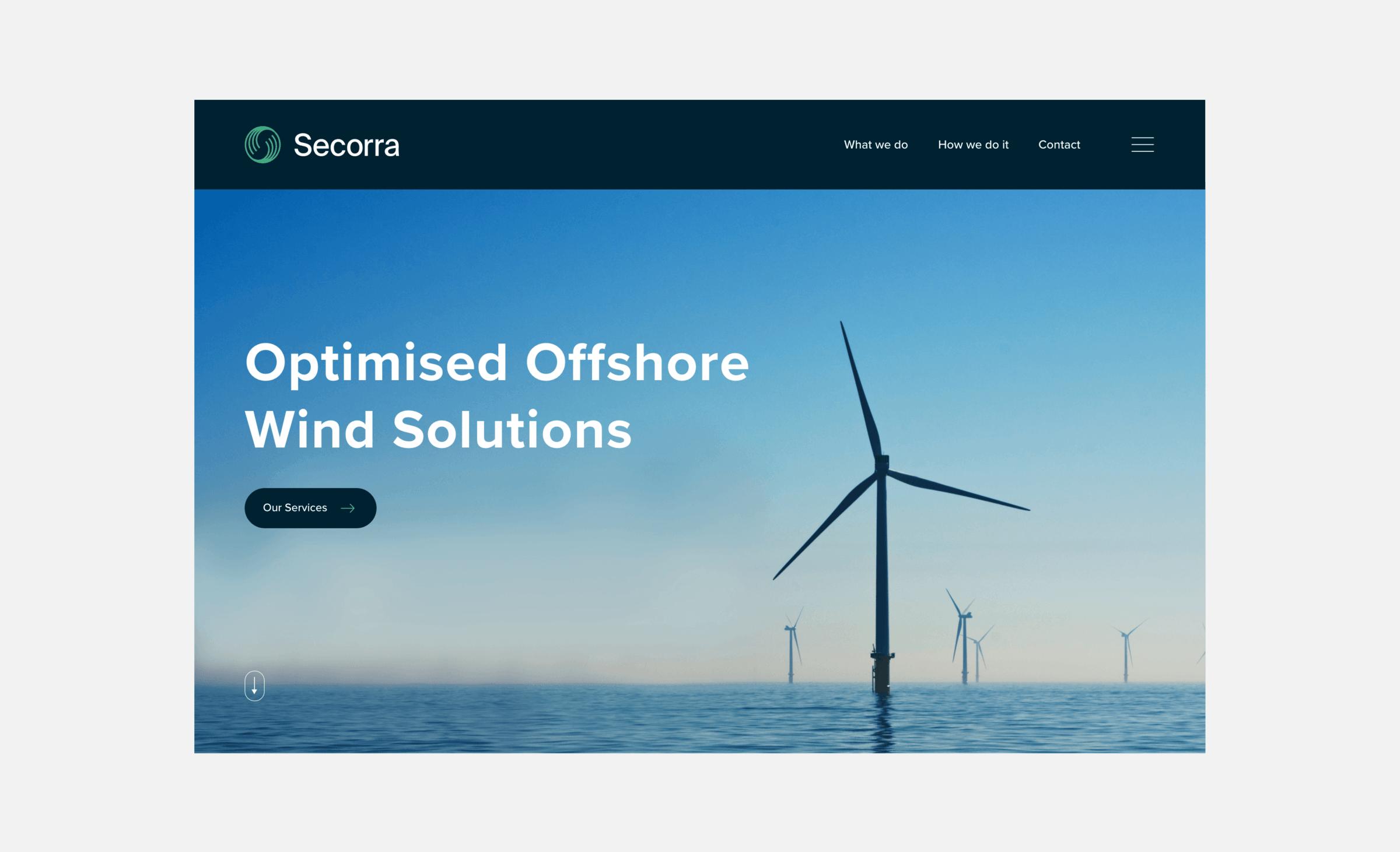 Website development for Secorra
