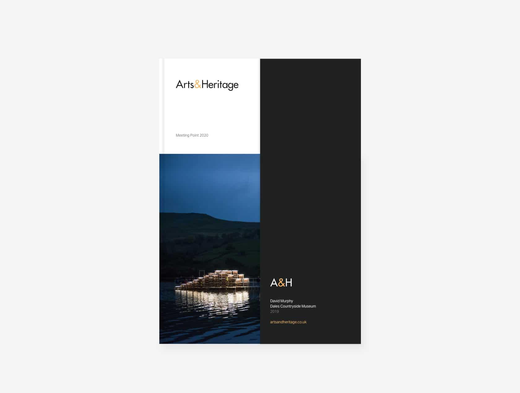 Arts&Heritage business stationary