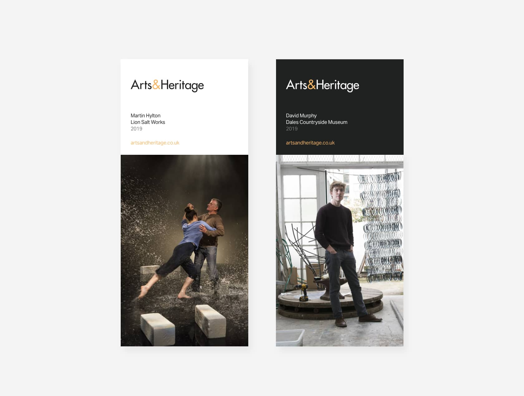 Arts&Heritage flyers