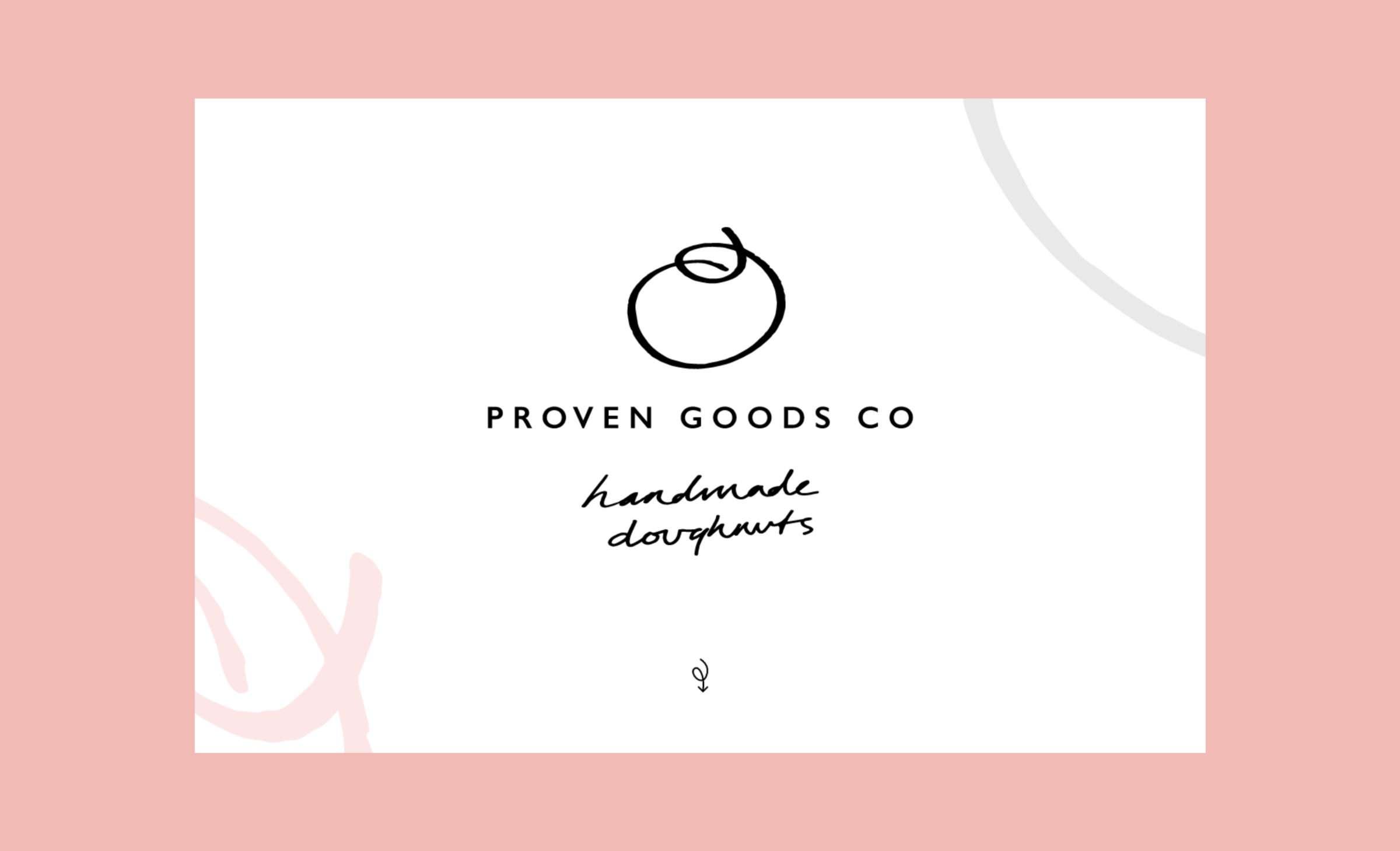 The Proven Goods website