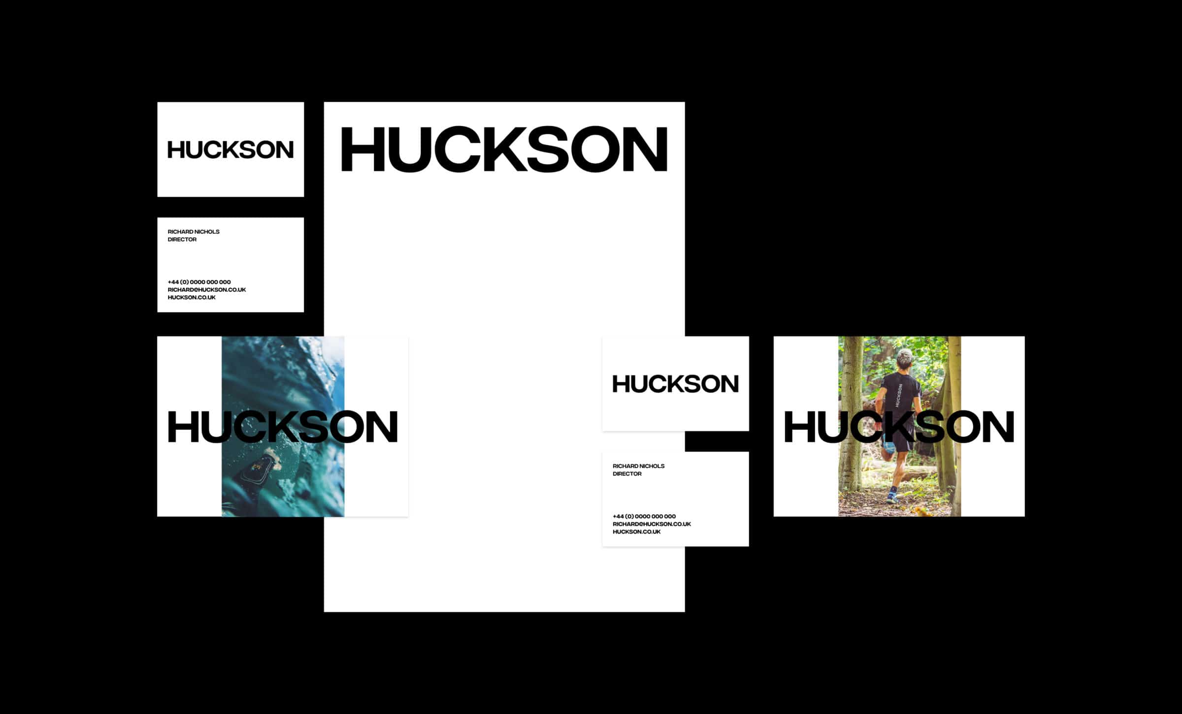 Huckson business stationary