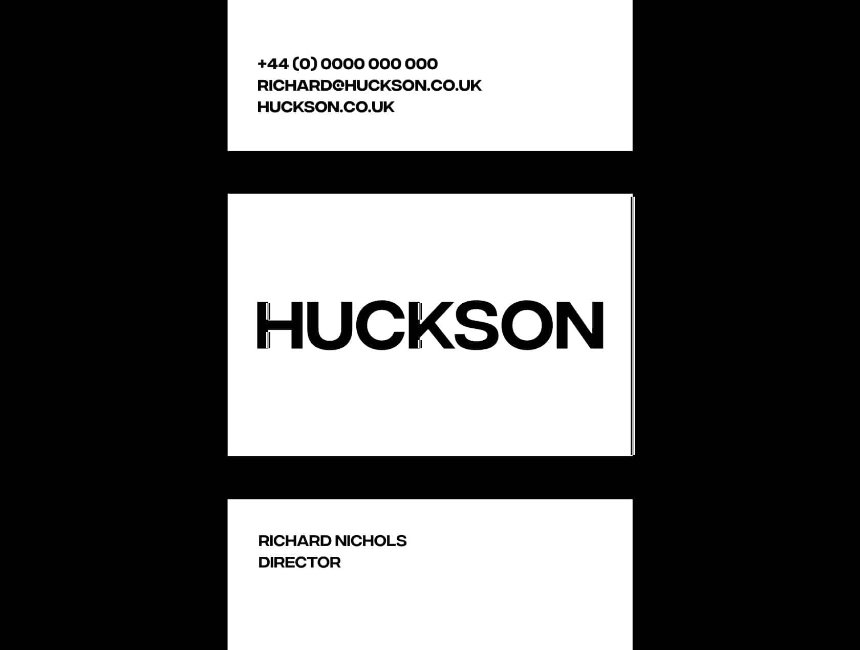 Huckson stationary