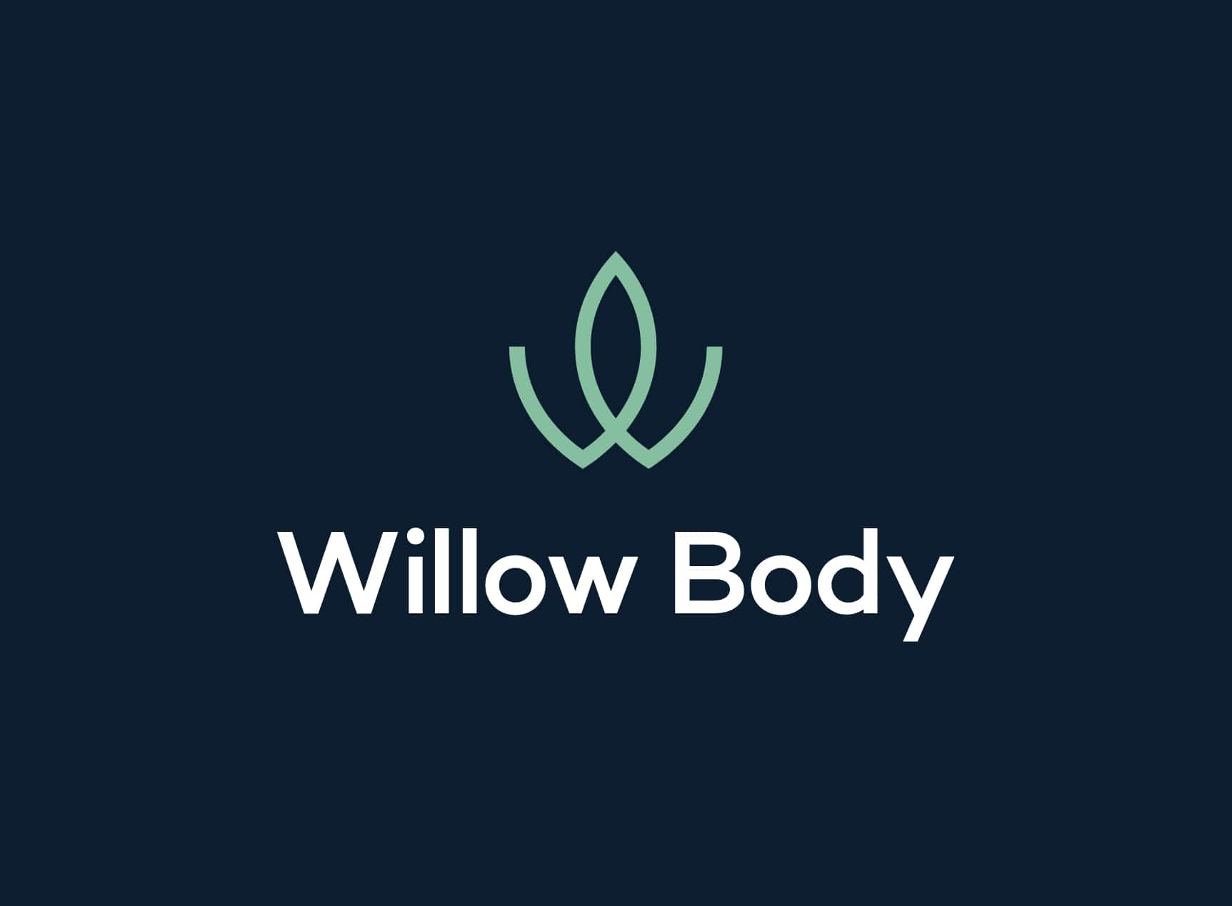 Willow Body logo by TAC