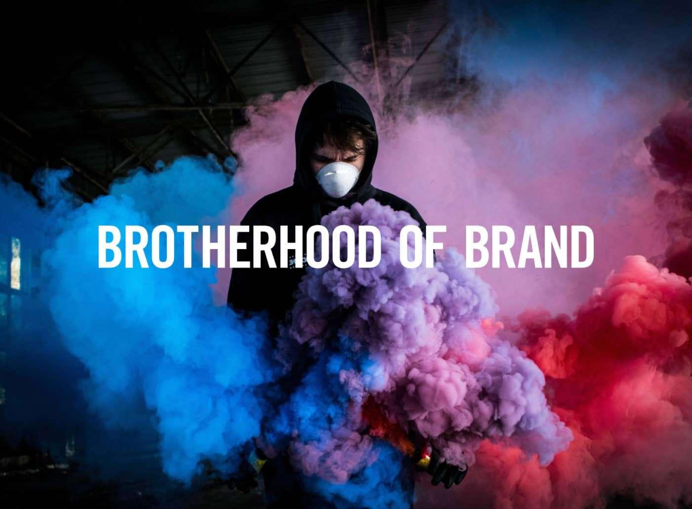 Brotherhood of Brand logo by TAC