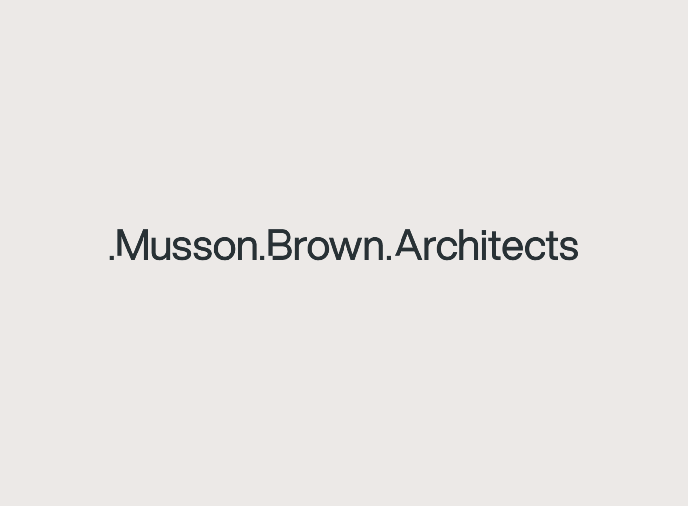 Musson Brown Architects logo by TAC