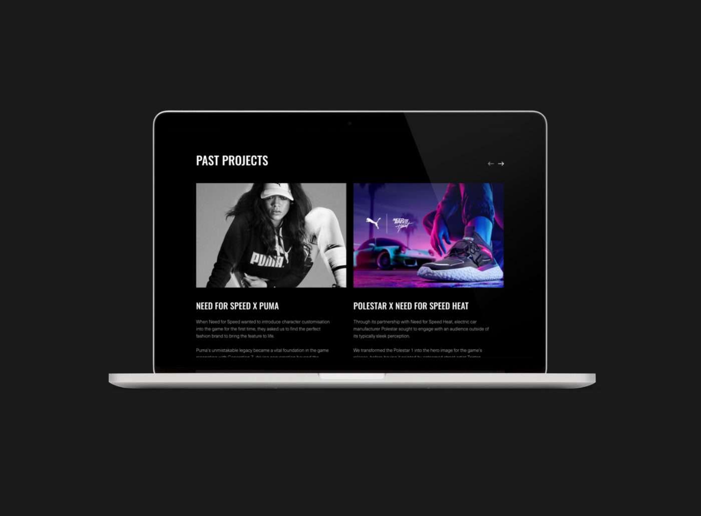 Brotherhood of Brand website by TAC