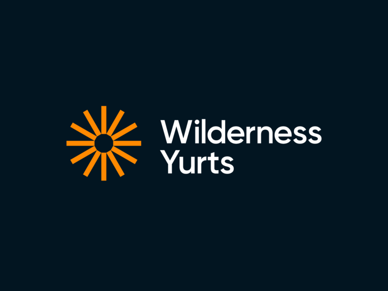 Wilderness Yurts logo by TAC